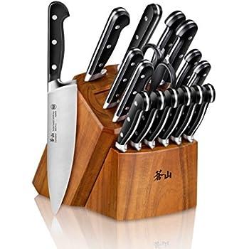 Amazon.com: Cangshan Cutlery TC Series - Juego de cuchillos ...