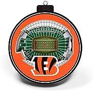 NFL Cincinnati Bengals - Paul Brown Stadium 3D StadiumView Ornament3D StadiumView Ornament, Team Colors, Large