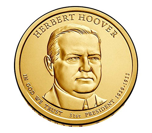 2014-p-presidential-herbert-hoover-dollar-choice-uncirculated