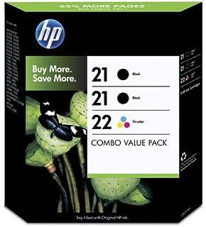 HP 21 negro/tricolor HP 22 2-pack Original cartuchos de ...