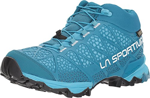 Gtx Backpacking Mid Boot (La Sportiva Women's Synthesis Mid GTX Hiking Shoe, Fjord, 42.5 M EU)
