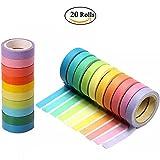 20 Rolls Washi Tape, Decorative Washi Tapes DIY