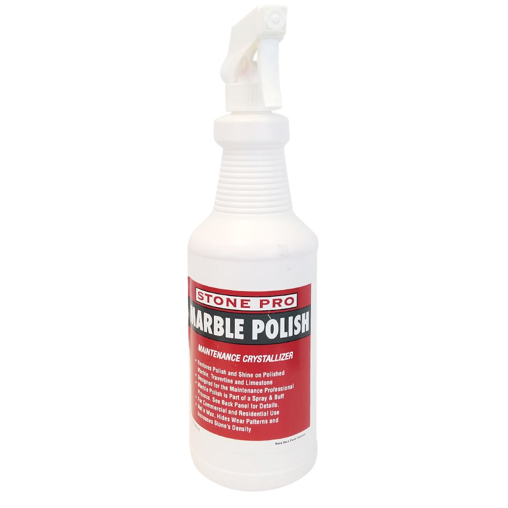 Stone Pro Marble Polish - Maintenance Crystallizer - 1 Quart