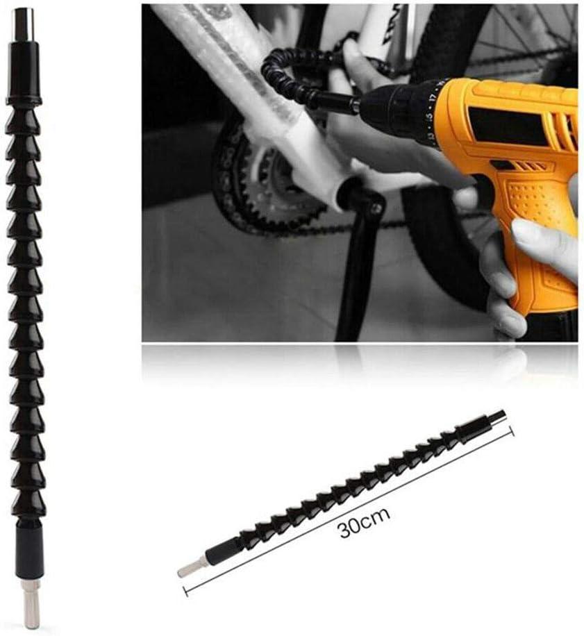 meubles SENRISE Tournevis universel flexible 1//4 300 mm pour ch/âssis dordinateur noir /électriques