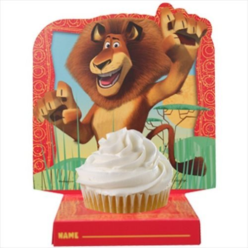 Madagascar 'Escape 2 Africa' Cupcake Holders (6ct) - Birthday Cake Madagascar