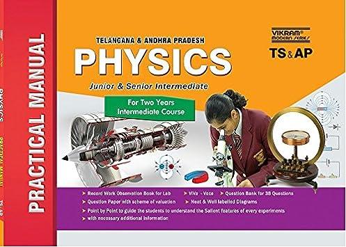 buy ts ap inter i ii practical manual physics em book online rh amazon in Organic Chemistry Practice Organic Chemistry Lab Practical