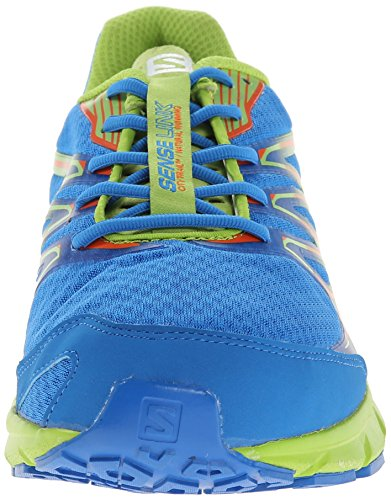 Salomon Mens Sense Link Sportschoen Union Blue / Granny Green / George Orange