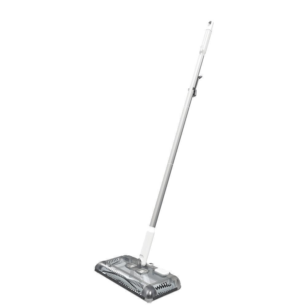 BLACK+DECKER HFS115J10 Lithium Floor Sweeper 30 Min Lithium Floor Sweeper, Powder White