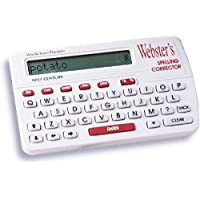 Franklin Websters Websters Spelling Corrector NCS-100 Features Phonetic Spell Correction (type the word like it sounds).