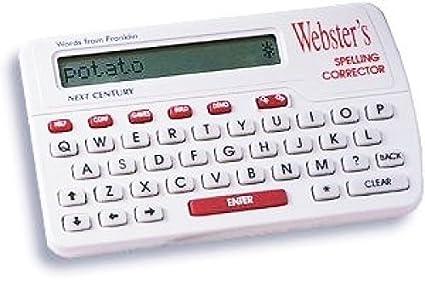 Amazon com : Franklin Websters Webster's Spelling Corrector NCS-100