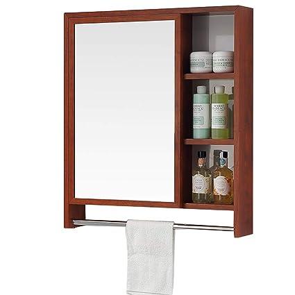 Amazon.com: Mirrors Mirror Cabinet Space Aluminum Bathroom ...