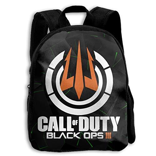 II 3 Trident Logo Children's Lightweight Casual School Backpacks Daypack ()