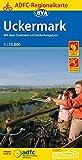 ADFC-Regionalkarte Uckermark mit Tagestouren-Vorschlägen, 1:75.000, reiß- und wetterfest, GPS-Tracks Download: Mit dem Drahtesel auf Entdeckungstour (ADFC-Regionalkarte 1:75000)
