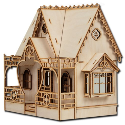 Roof Laser Cut (Half Scale Diana Laser Cut Dollhouse Kit)