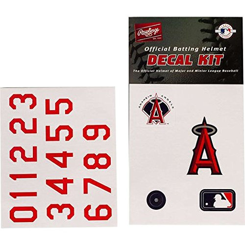 (Rawlings Authentic MLB Official Batting Helmet Decal Kit from )