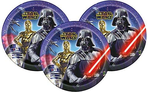 Disney Star Wars Dinner Paper Plates 9