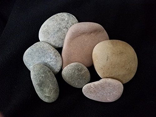 Glacier Rivers, River Rocks for Painting, Art Supplies for Kids, Arts and Crafts for Girls and Boys. 5 To 9 Rocks, Approximately 3 to 5 Inches. 4Lbs Extra Large. Photo #6