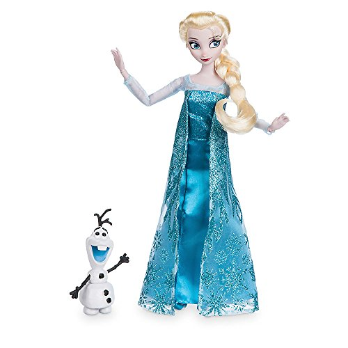 Sven From Frozen Costume (Disney Elsa Classic Doll with Olaf Figure - 11 1/2 Inch460013898313)