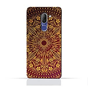 AMC Design Alcatel 3X 5058Y TPU Silicone Protective Case with Floral Pattern 1201