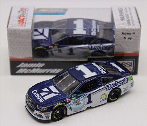 Lionel Racing Jamie McMurray #1 Cessna 2017 Chevrolet SS 1:64 Scale ARC HT Offical Diecast of The NASCAR Cup Series