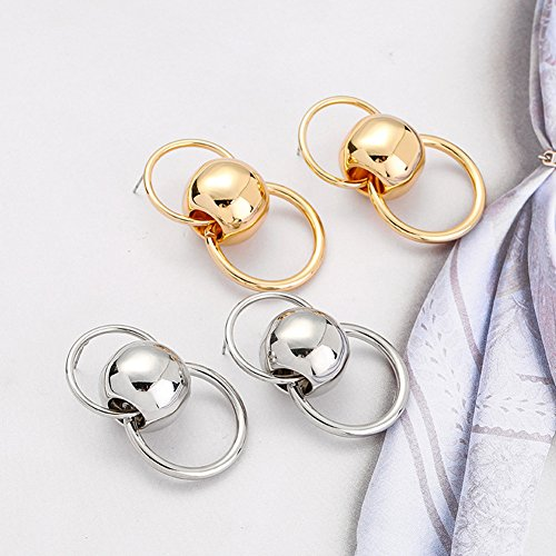 Dangle Gold Fashion Birthday with Celebration Show for Vintage Style Earrings Jewelry Wedding Party qRwZAgrq