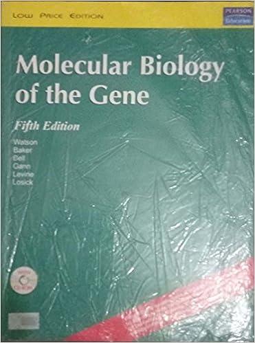Molecular Biology Of The Gene Et Al James D Watson 9788129703903