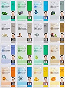 Dermal Korea Collagen Essence Full Face Facial Mask Sheet