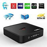 (US) Smart Andriod TV Box, U2C T95M Set Top Box Amlogic S905X BT 4.0 2G/8G Quad Core Android 6.0 Wifi HD 4K Smart TV Box