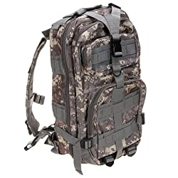 Lovinland 30 L Outdoor Backpack Tactical Rucksacks Military Trekking Bag for Hiking Camping Hunting ACU Camouflage