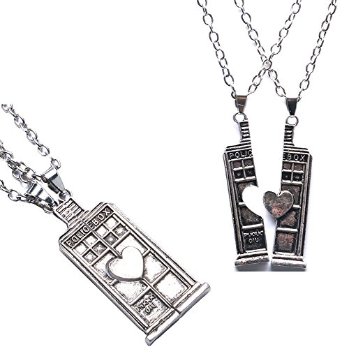 collier homme doctor who