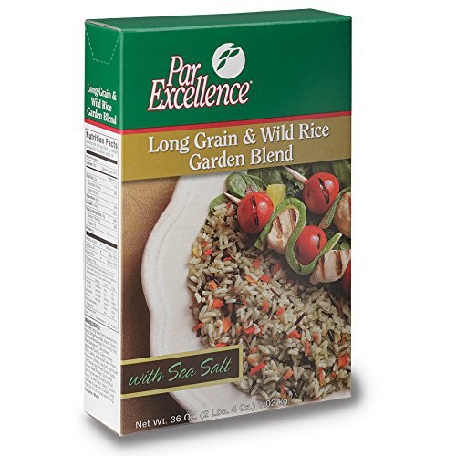 Producers Rice Mill, Inc Par Excellence Long & Wild with Garden Blend Seasoned Mix 36 oz., 6 per case by Producers Rice Mill Inc