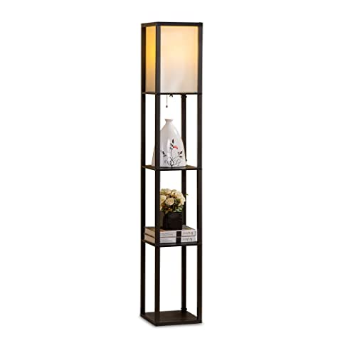 Merveilleux Lixada Floor Lamp 110 240V Creative 3 Layers Shelf E27 Vertical Storage  Rack Stand Light