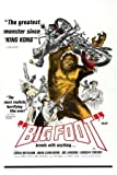 "Bigfoot Movie Poster 24""x36"""