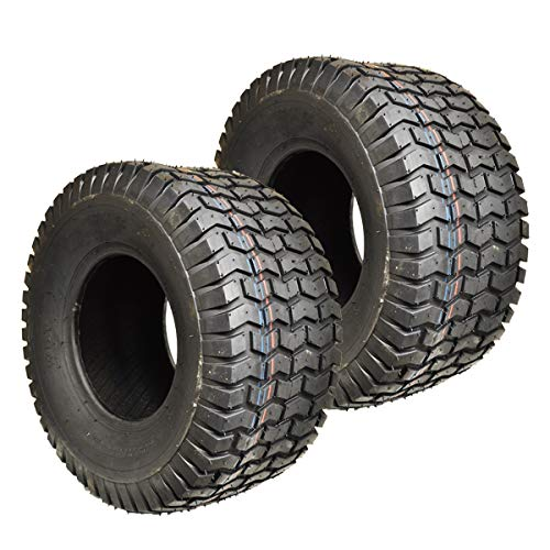- 2PK 20X10.00-8 Turf 20X10-8 20x10x8 20x10.00x8 4 PLY Rated Lawn Mower Tires for Scag, Toro, Wright, Kubota, Craftsman MTD, Cub Cadet