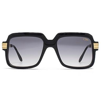 3cde57968b86 Cazal Legends 607 Sunglasses in Shiny Black 607 2 3 001 56 at Amazon Men s  Clothing store