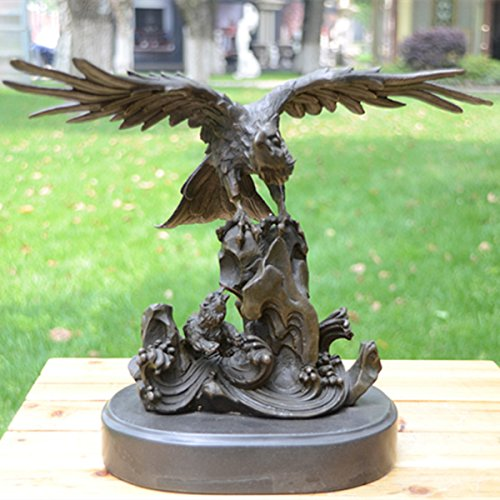 art deco sculpture modern art bronze fly eagle statue home. Black Bedroom Furniture Sets. Home Design Ideas
