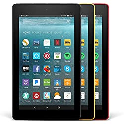 All-New Fire 7 Variety Pack, 8GB - Includes Special Offers (Black/Yellow/Red)