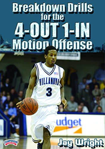 Breakdown Drills for the 4-Out 1-In Motion Offense (Jay Wright 4 Out 1 In Motion Offense)