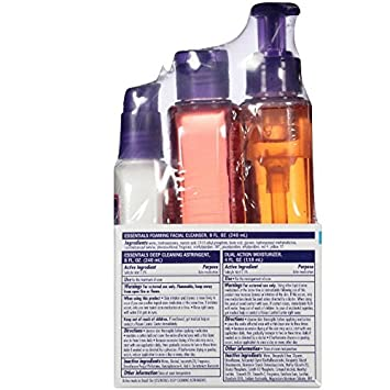 CLEAN CLEAR Daily Skincare Essentials 3 ea Pack of 12