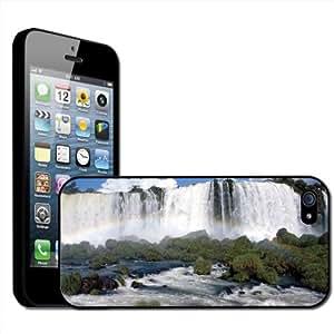Fancy A Snuggle - Carcasa para Apple iPhone 5, diseño de catarata