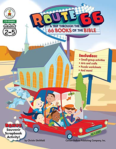 Route 66: A Trip through the 66 Books of the Bible, Grades 2 - 5 (Best Sunday School Lessons)