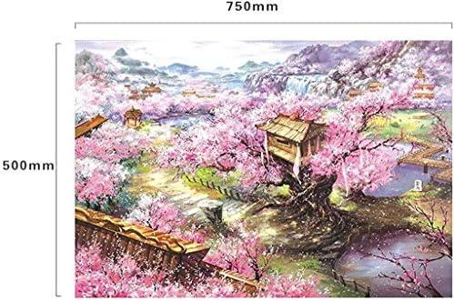 1000 stukjes Landschapspuzzels voor volwassenen, puzzelsets voor het gezin, kartonnen puzzels, educatieve spellen, Brain Challenge-puzzel voor kinderen, kinderen ( Color : A ) ppmeuhk5