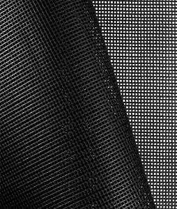 Amazon Com Black 9x9 Vinyl Coated Mesh Fabric By The Yard
