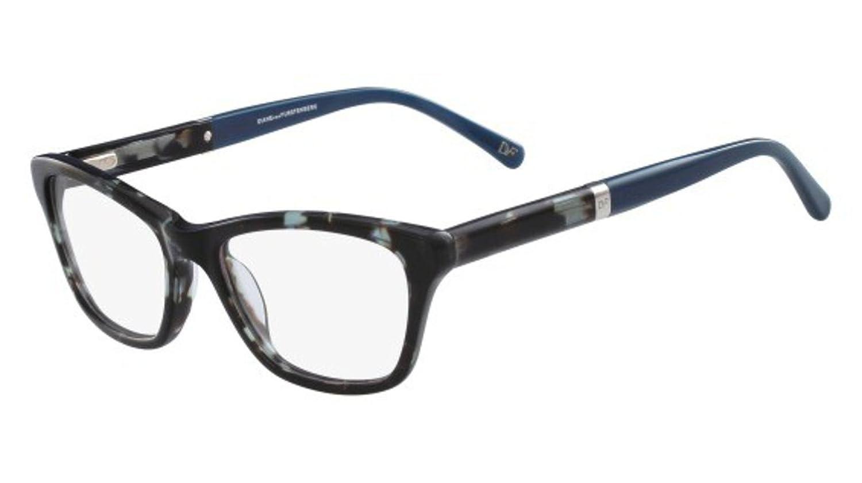 0d4182e7d23cf Eyeglasses Diane von Furstenberg DVF5069 320 TEAL TORTOISE  Amazon.ca   Clothing   Accessories