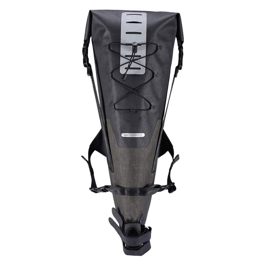 LIOOBO Cycling Bags 12-14L Bike Large Saddle Bag Cycling Rear Bag Waterproof Cycling Rear Pannier Bike Tail Storage Bag by LIOOBO