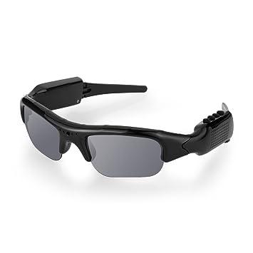 Diggro Gafas de sol de la cámara de grabación de Bluetooth 4.0 1080P HD Video Recorder