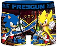 FREEGUN Set Boxers Briefs Assortment Sonic The Hedgehog - Man or Boy - Sublimation Printing