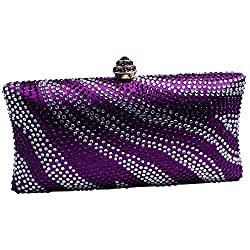 Women's Crystal Clutches for Wedding and Prom