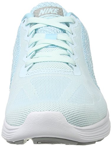 NikeNike 3 Multicolore Blue Damen Donna Scarpe Running wol Laufschuhe Revolution Blue Matte still Glacier Silver RUfwqxrR4