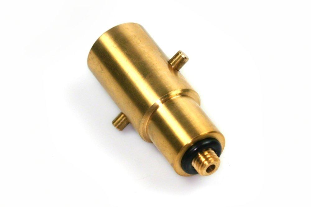 Drehmeister Bayoneta Reservorio Adaptador 10 mm, lató n Auto Gas, LPG, GPL latón Auto Gas HybridSupply